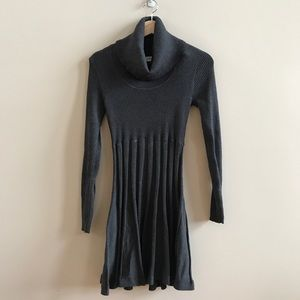 Calvin Klein turtleneck a line sweater dress